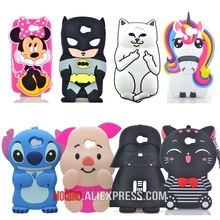 For Huawei Y5 II /Honor 5A LYO-L21 /Y6 II Compact Case Yoda Darth Vader Pocket Cat Minnie Batman Stitch Pig Silicone Case(China)