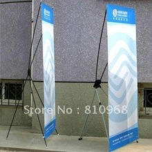 X Frame Stand advertising display Banner (with printed graphic), MOQ: 1set(China)