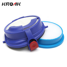 KROAK Car Vacuum Cleaner Pre Post Motor HEPA Filter Washable Kit Replace For Dyson DC24 DC24i Ball(China)