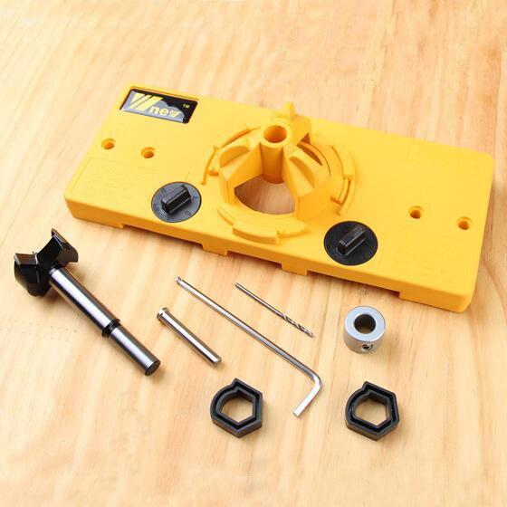 1 Set 35MM hinge JF1284 drill guide, carpentry tools DIY tools <br>