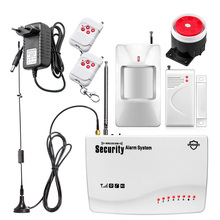 Newest G11Z Wireless GSM Home Security System Intruder Alarm Russian/English Voice PIR Detector Door Sensor