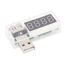 1pcs USB Charger Doctor Mobile Battery Tester Power Detector Voltage Current Meter NEW
