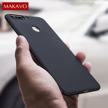 MAKAVO Cover For Huawei Honor 8 Pro Case 360 Protection Soft Silicone Housing Matte Phone Cases For Huawei Honor V9 Honor 9
