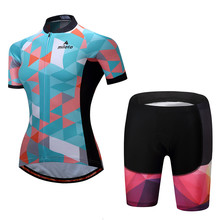 Buy 2017 New Women's Cycling Jersey Set Short Sleeve mtb Bike Bicycle Sportswear Ropa Ciclismo Bike Team Breathable Cycling Clothing for $24.78 in AliExpress store