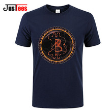 Buy BITCOIN T SHIRT MEN TOP Print T-Shirt Mens Summer Men T-Shirt Man brand logo Clothing Plus Size New TShirts Unisex Funny Top Tee for $13.00 in AliExpress store