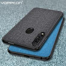 PKR 413.13  26%OFF | For Huawei P Smart Z Case Fabric Hard PC Silicone Frame Back Cover For Huawei Y9 Prime 2019 Phone Case Voppton Simple Fundas