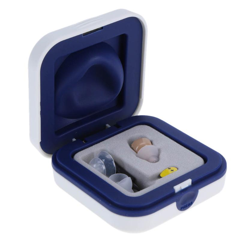 Portable Listening Mini Digital Rechargeable Hearing Aid Ear Sound Amplifier In the Ear Tone Volume Adjustable Ear Care With Box 15