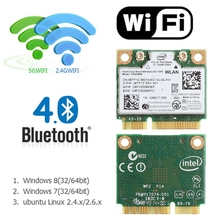 Dual Band Bluetooth 4.0 Wireless Mini PCI-E Card For Intel 7260 AC DELL 7260HMW(China)