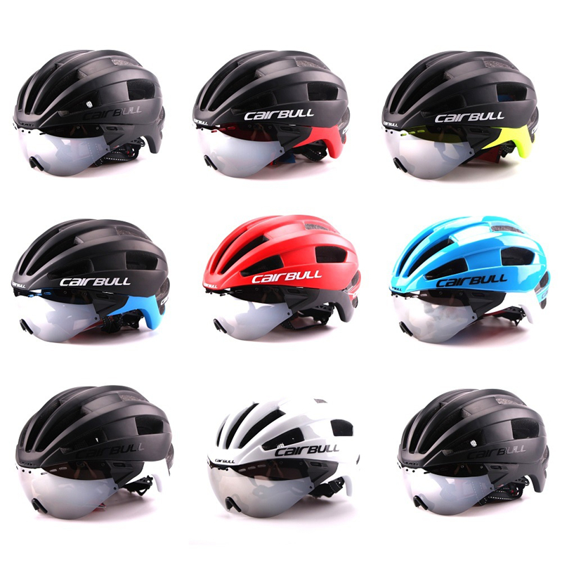 CAIRBULL MTB Helmet Ultralight Integrally-molded casco ciclismo Unisex Cycling Bike Bicycle Helmet Sport goggles Helmet M/L<br>