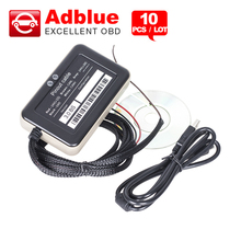 10PCS/Lot Truck Adblue Emulator 8 in 1 super quality adblue 8 in 1 with Programing Adapter Truck Adblue Emulator DHL free(China)
