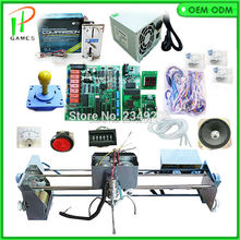 DIY Toy Crane Machine kit for Crane machine kit with crane game PCB, coin acceptor, buttons, harness. etc for crane machine(China)