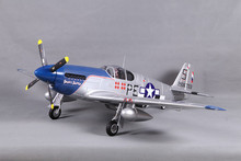 FMS RC Airplane 1400MM / 1.4M P51 / P-51 B Mustang Snoot's Sniper SS Blue Newest version PNP Big Scale Gaint Warbird Model Plane