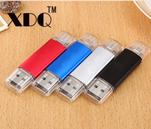 OTG USB Flash Drive 128GB 64GB 32GB Pen Drive Real Capacity 16GB 8GB 4GB Pendrive Flash USB Stick for Android U Disk