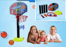Wholesale 36set Can adjust the height basketball stands toy Super sport basketball stands+basketball+Inflator sets kids gift