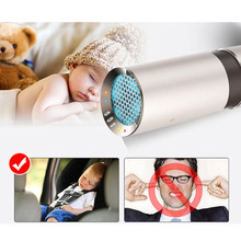Car Air Purifier and Ionizer Air cleaner Ionic air purifier Car Air Freshener Eliminator Removers Cigarettes Smoke Automobiles(China)