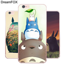L141 Cute Totoro Soft TPU Silicone  Case Cover For Apple iPhone X 8 7 6 6S Plus 5 5S SE 5C 4 4S