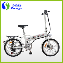 Free shipping 36V Electric Bike 250W Motor Folding Bicycle for North America