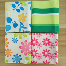 40x50cm Special Absorbent Microfiber Kitchen Cleaning Small Square Towel Bathroom car dish cloth rags Hand Face Towels Printed