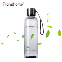 Buy Transhome Sport Bottle Water 500ml Transparent Protein Shaker Bottle Bootle Outdoor Sport Running Bicycle Climbing Agua for $3.90 in AliExpress store