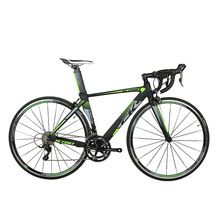 RichBit New Road Race Bicycle 18 Speeds 9 Gears Cassette Ultra Light Weight Carbon Fiber Fork Shimano 3500 700C*46/48cm Frame(China)