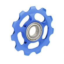 Good deal MTB Mountain Bike Road Bicycle Rear Derailleur Aluminum Alloy 11T Guide Roller Idler Pulley Jockey Wheel Part(China)