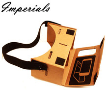 New For Google Cardboard Valencia Quality VR 3D Virtual Reality Glasses Fashion For 3D games and movies  High Quality 2