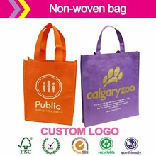Purpose Bags Eco reusable colorful foldable non woven bages,non woven shopping bag small gift bags gloss lamination printing