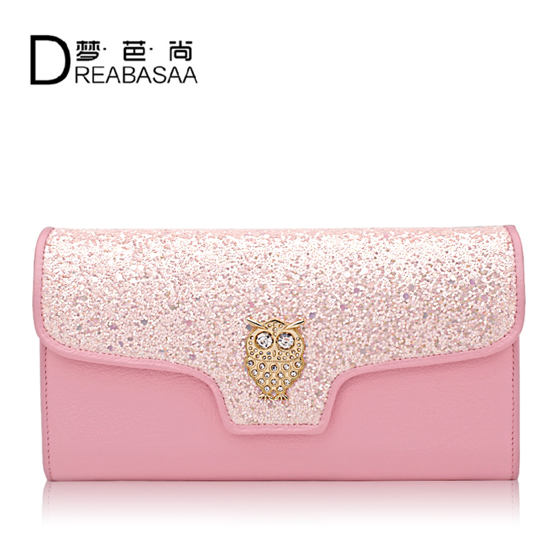 2016 Fashion Women Wallets Brand High Quality Leather Wallet Long Women Wallets And Purses Genuine Leather Wallets<br>