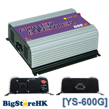 New 600W 220V Output SGPV MPPT Function Small Pure Sine Wave Grid Tie Inverter PV System 10.8V ~ 30V / 22V ~ 60VDC Optional(China)