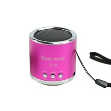 1 PC Portable Wireless Mini Music Speaker FM Radio USB Micro SD TF Card MP3 Player