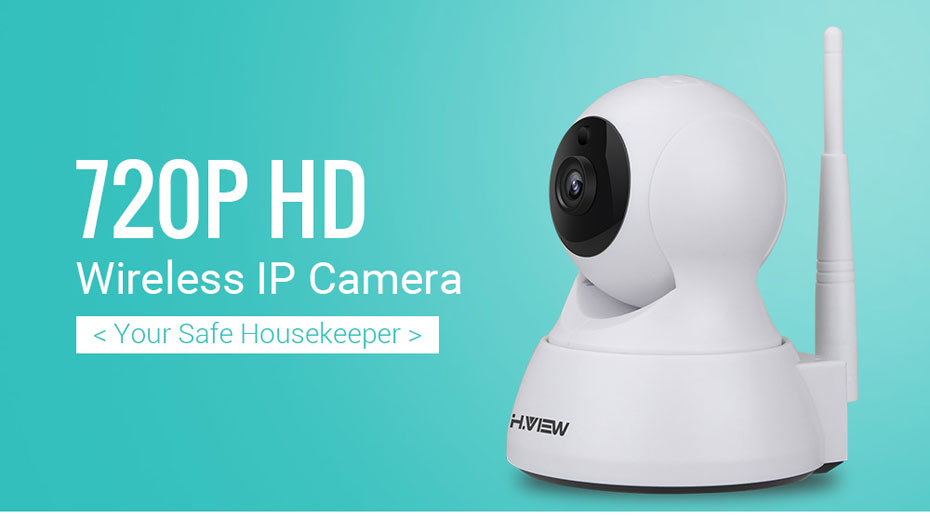 H.VIEW 720P IP Camera 1200tvl Surveillance Camera PTZ CCTV Cameras Camara iOS Android Remote View IP Wifi Cameras (1)
