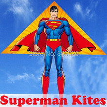 free shipping 20pcs/lot Superman kite with flying tools outdoor toys children kite flying kevlar cometa parachute sport stunt