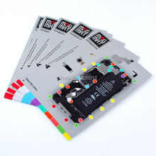 Matt Customized Removable die cut vinyl price sticker printing and Full Colors roll tag label stickers in china --- DH10033