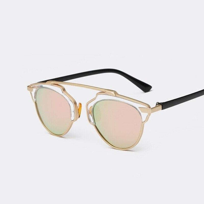 2016 New Summer Fashion Vintage Metal Female Cat eyes Eyewear Outdoor Luxury Brand Women Designer Retro Men Sunglasses<br><br>Aliexpress