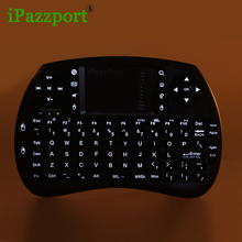 ipazzport 5pc Wireless Mini Bluetooth Keyboard Mouse Touchpad For Windows Android iOS Tablet PC HDTV Google TV Box Media Player