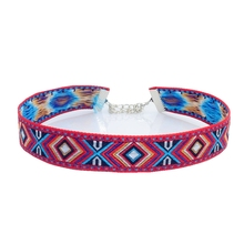 New fashion jewelry cloth Bohemia friendship pattern choker collar necklace gift for women girl  N2042