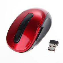 High Quality Optical Wireless Mouse USB Receiver RF 2.4G For Desktop & Laptop PC Compute Peripherals Accessories 3 colors