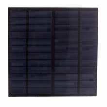 3W 12V DIY Solar Cell 145*145mm 250mAh Polycrystalline PET + EVA Laminated Mini Solar Panel for Solar Systemt and Education