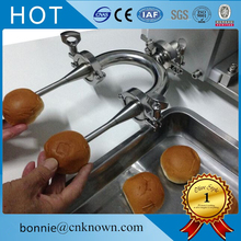New design used for cupcakes donuts bread cake cheese corn puffs filling filler making machine