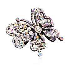 M MISM Best Quality Muti-Color Rhinestone Bridal Wedding Head Ornaments Crystal inlaid Spring Hair Clip Women Accessory Hairgrip