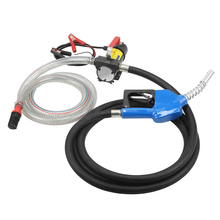 Portable 12V Diesel Fluid Extractor Electric Transfer Pump Car Fuel Auto Speed
