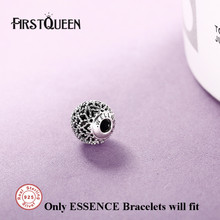 FirstQueen Joyas De Plata 925 Essence Wellness Beads Charms Fits Essence Bangle Bracelets Beads For Jewelry Making(China)