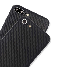 "For Iphone 7 Luxury New Carbon Fiber Sticker Back Cover Case Film for Iphone 7 4.7"" Ultra Thin Protector Phone Skin"