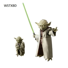 WSTXBD Original BANDAI Star Wars SW Figure-Rise 1/6 Scale Yoda PVC Figure Model Dolls Toys Figurals Brinquedoas(China)