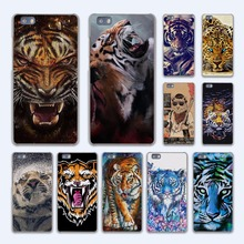 colorful animal tiger rainbow design hard transparent Case Cover for Huawei P10 P8 P9 lite P7 Mate 7 8 Mate9 Mate S
