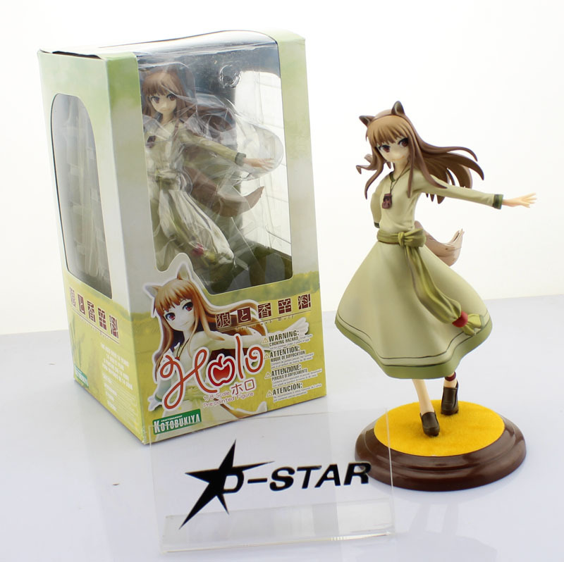 Free Shipping Lovely 8 Kotobukiya Spice and Wolf Holo Renewal 1/8 Scale Boxed PVC Action Figure Collection Model Toy Gift<br><br>Aliexpress