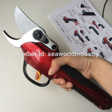 FPQ Bypass pruner garden shears Electric Pruning Shear WS P-1 (CE,FCC certificate)(China)
