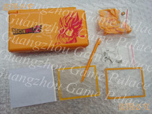 For Dragon Ball pattern housing case replacement parts for NDSL NDS Lite console