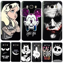 Cool Cartoon Hard PC Phone Back Cover Case For Samsung Galaxy J3 J5 J7 A3 A5 2016 2015 S3 S4 S5 Mini S6 Edge S8 Plus Note 3 4(China)