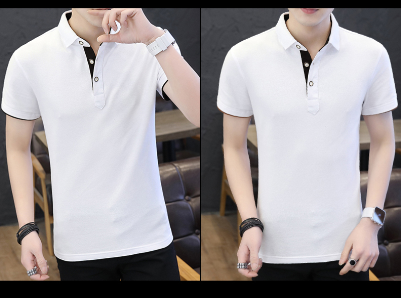 SD Polo Shirts Men 2018 New Arrivals Casual Male Polo Shirts Breathable Cotton Tops High Quality Solid camisa Polos Homme 413 26